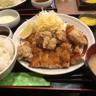 チキンチキン定食(鳥良商店 神田小川町店)