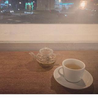 ミントティー(moon mica takahashi coffee salon)