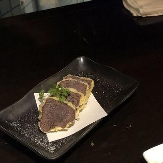 タンの天ぷら(麻布十番しも井 )