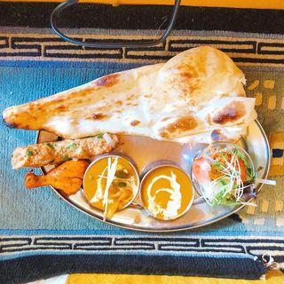 ランチCセット(アーサ インド レストラン 自由が丘 )