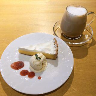 レモンタルトセット(Cafe A.P.O.L(カフェ・ア・ポル))