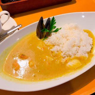 シーフードカレー(カフェレストラン タロー (Restaurant TARO))