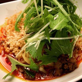 汁なし担々麺(中国料理 唐文記 )