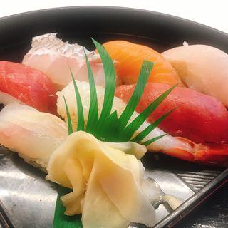 潮風御膳 (寿司刺身天ぷらつみれ汁)(ばんや )
