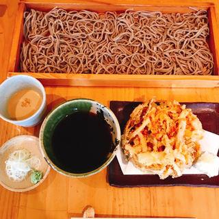 桜えびのかき揚げそば切り(板蕎麦 香り家 )