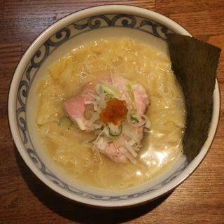 カニ煮干しの中華ソバ(白みそ)(らー麺屋 バリバリジョニー )