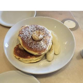 リコッタパンケーキ フレッシュバナナ ハニーコームバター(bills 二子玉川 (ビルズ))