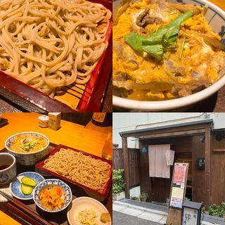 日替りランチ(木曜)柳川風牛丼膳(蕎庵 卯のや (きょうあん うのや))
