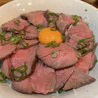 ローストビーフ丼(麺や 鳥我)