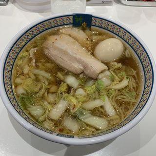 たまごラーメン(どうとんぼり神座 アトレ川崎店)