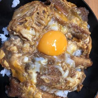 特製カツ丼定食(やぐら )
