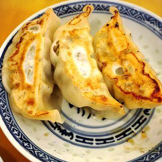 半餃子(3個)(中国ラーメン揚州商人 立川店 (チュウゴクラーメン・ヨウシュウショウニン))