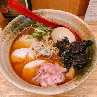 得製焼きあご塩らー麺(焼きあご塩らー麺 たかはし 大阪城店)