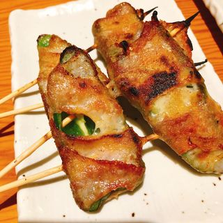 ピー肉チーズ巻(串タロー 本店別館 (【旧店名】串でん))