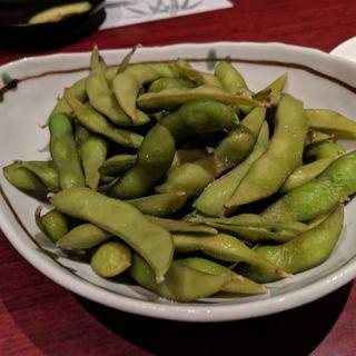 茶豆枝豆のスモーク(裏NO庭恵比寿店 )