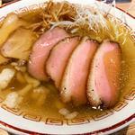 肉そば(塩煮干)
