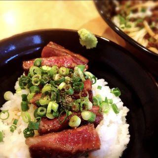 黒毛和牛ステーキ丼(こいけ屋 )