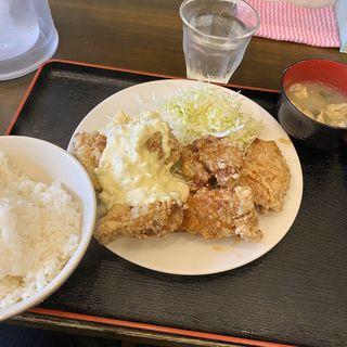 からあげ定食(八丁堀食堂 )