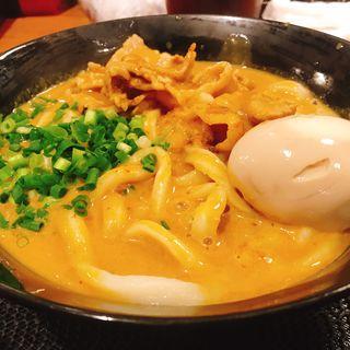 豚カレーうどん(千駄木うどん 汐満 )