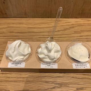 牧場別ソフト食べ比べ(みるくsan)