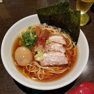 味玉醤油らーめん(仙臺 くろく)