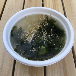 鶏塩スープ(旨し酒 風丹 )