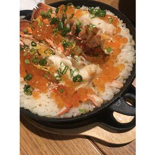 オマール海老とズワイガニの炊き込みご飯