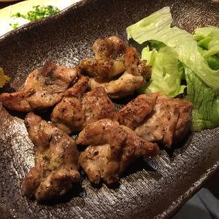 大山鶏の炭炙り/ゆず胡椒添え(炙りや 楽蔵 (あぶりや らくぞう))