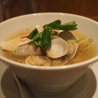 蛤と牡蠣 汐SOBA(銀座 篝 ルクア大阪店)