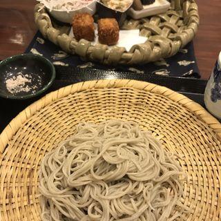 おまかせランチ(寒ざらしそば 芦生)