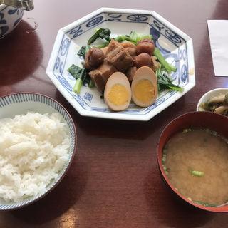 豚肉の梅干煮定食(ふーみん )