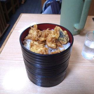 いか天丼セット(丸喜屋食堂 )