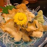 つぶ貝のお刺身