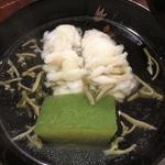 鱧の葛たたき潤菜碗