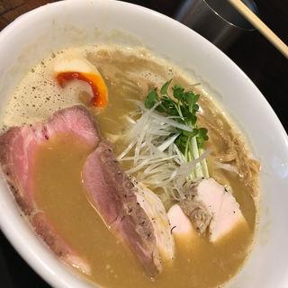 濃厚鶏白湯(宝麺 えびす丸)