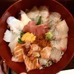 スペシャル海鮮丼(旬味旬菜 大和)