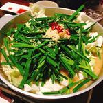 もつ鍋一人前 しょうゆ(もつ料理 かわ乃 博多店 (モツリョウリカワノ))