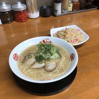 半ちゃんセット(太宰府八ちゃんラーメン 博多駅前3丁目店)