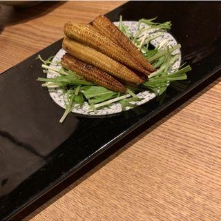 ヤングコーンのバター醤油炒め(京家 KARASUMA (キョウヤ カラスマ))