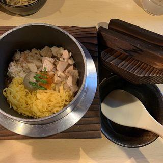 蟹の羽釜ごはん(蟹ラーメン専門店 香住 北よし)