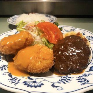 ハンバーグカニクリームコロッケ(おおたや 夷川店 )