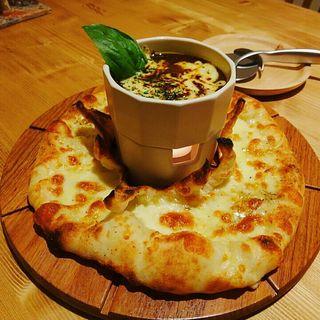 ピザDEカレーソース(Pizza Cafe TakemuRa (ピザカフェタケムラ))