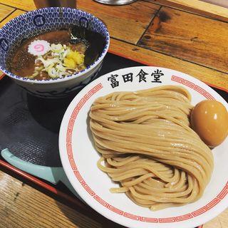濃厚半熟味玉つけ麺(松戸中華そば 富田食堂 )