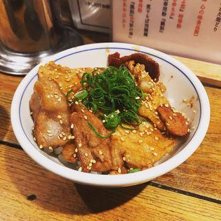 焼豚ごはん(松戸中華そば 富田食堂 )