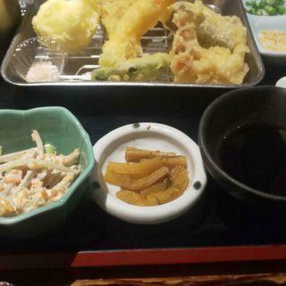 天婦羅御膳(釣船茶屋 ざうお 新宿店 (ツリブネヂャヤザウオ))