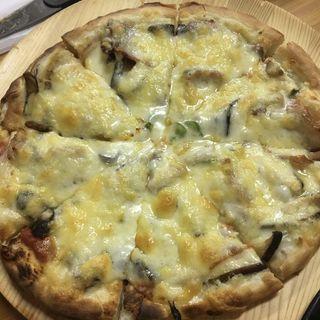 キノコのピザ(森のピザ工房 ルヴォワール (【旧店名】石釜屋))