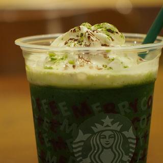京都 えらい 抹茶 抹茶 フラペチーノ(スターバックス・コーヒー からすま京都ホテル店 (STARBUCKS COFFEE))