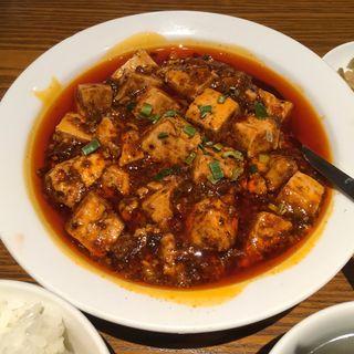 麻婆豆腐定食(京華樓 鶴屋町CRANE店 )
