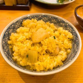 ドライカレー&鶏スープ(銀座鳥繁 (ぎんざとりしげ))