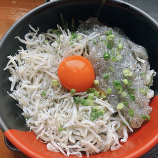 2色丼定食(大洗町漁協 かあちゃんの店 )
